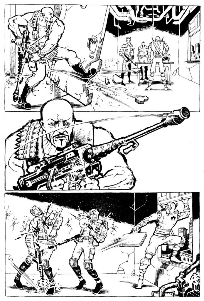 Fiffe's G.I. JOE page 1 ink