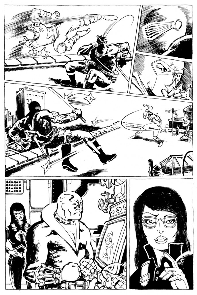 Fiffe's G.I. JOE page 2 ink