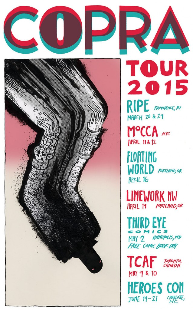 COPRA TOUR 2015 Schedule