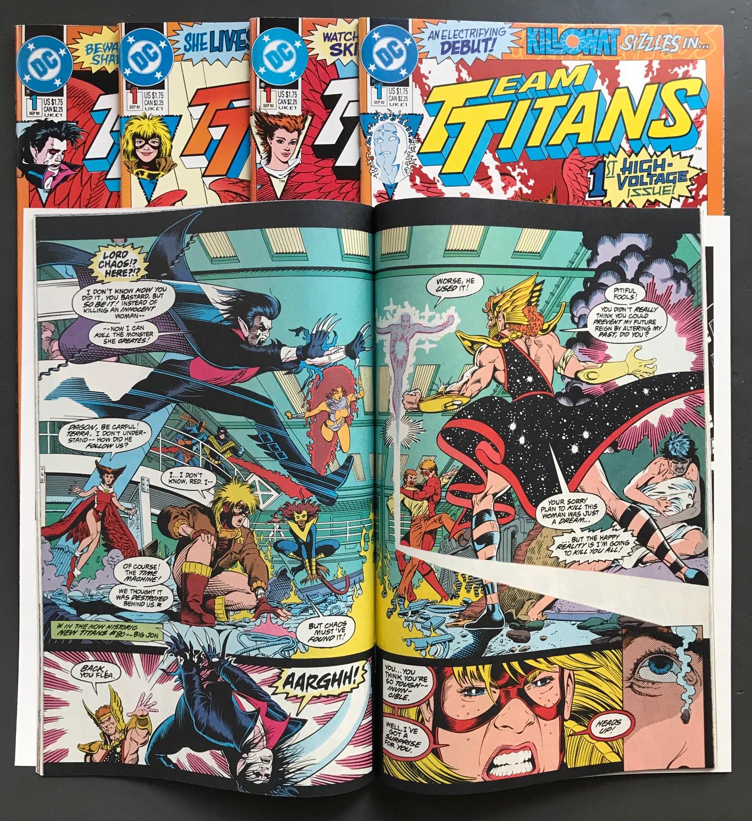 Michel Fiffe » OVERWORD 2 · Titans Fix Part Two