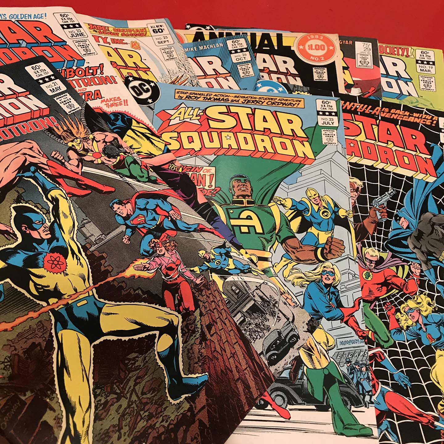 OVERWORD 2 · All-Star Squadron | The Comics Journal