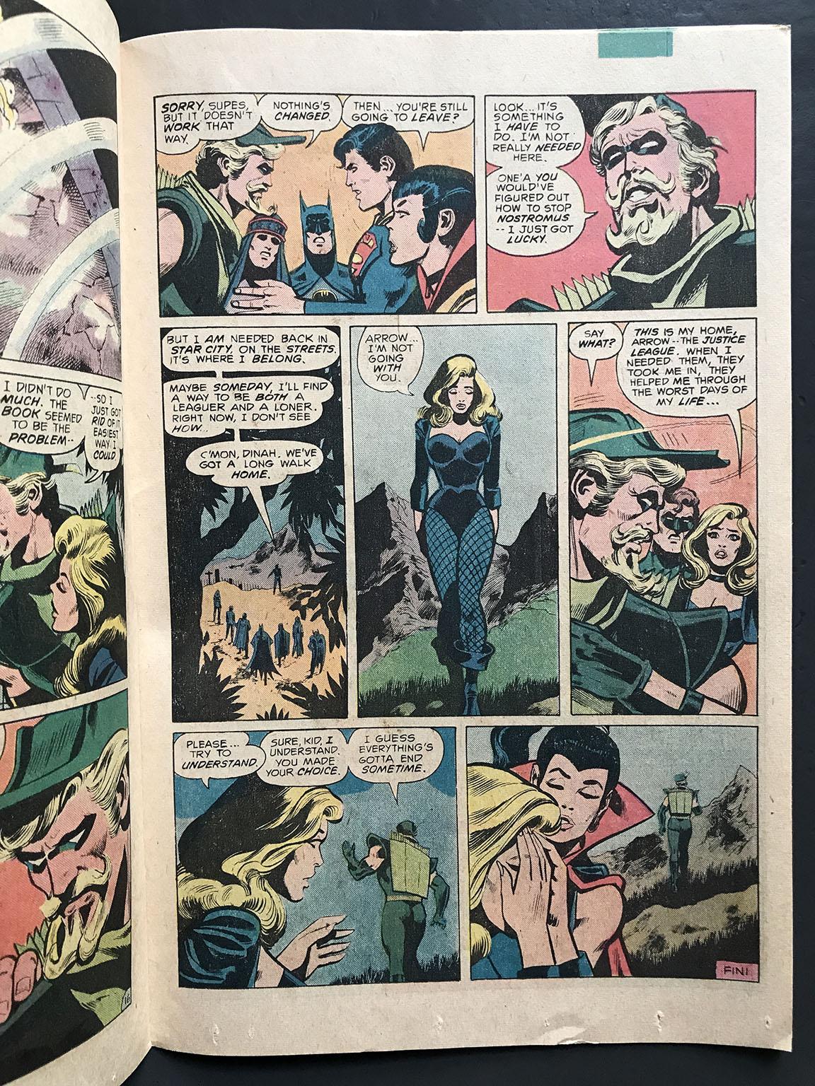 Michel Fiffe » OVERWORD 4 · Justice League of America
