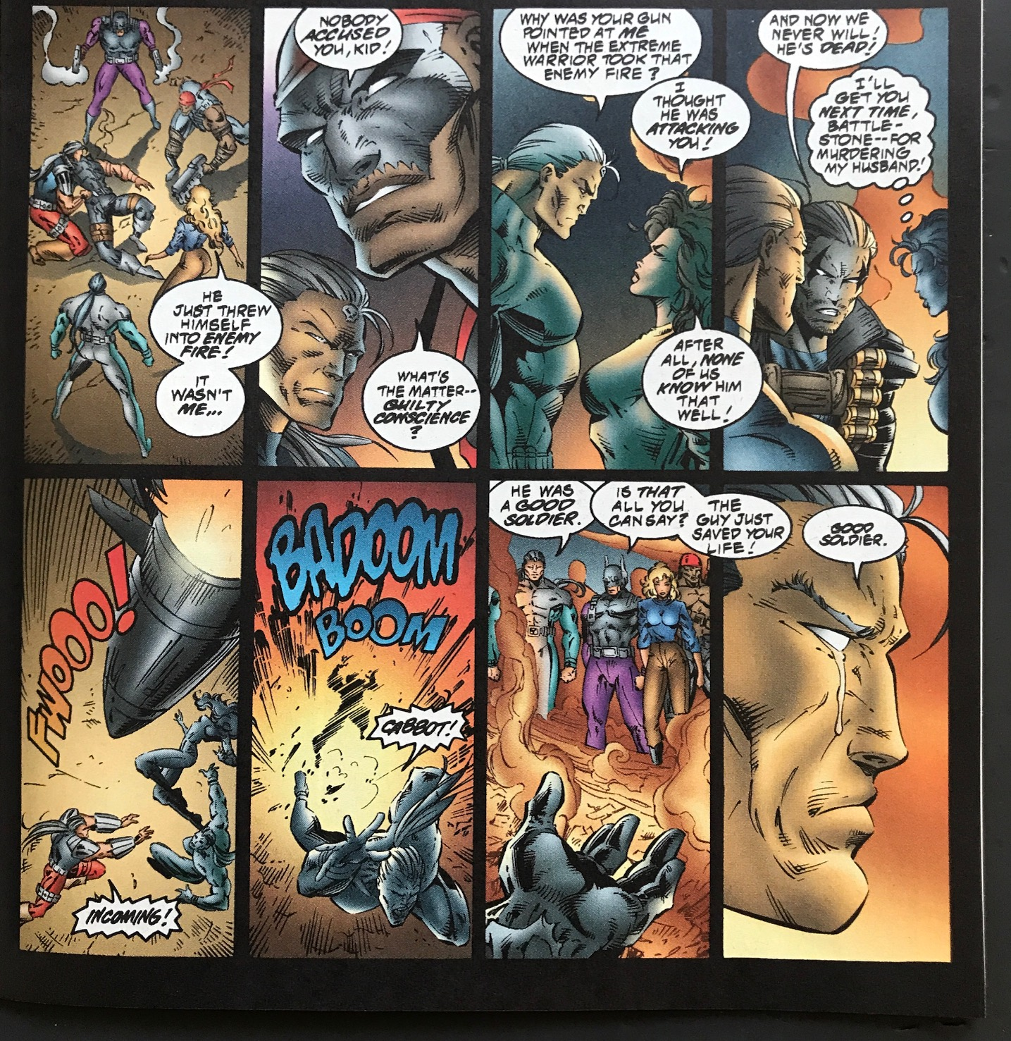 KNIGHTSTRIKE Issue #1 One Shot Extreme Destroyer Part 6 of 9 January 1996
